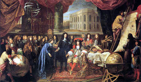 Henri Testelin - The Members of the Academy of Sciences to Louis XIV