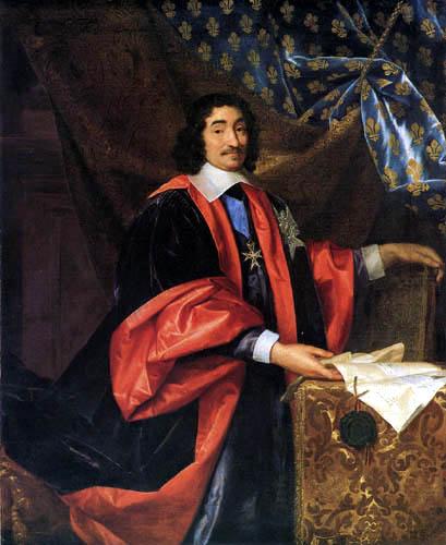 Henri Testelin - Portrait of Chancellor Pierre Séguier