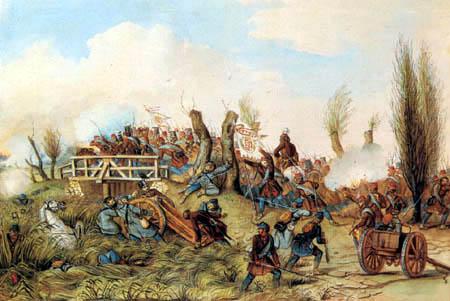 Mór Than - Battle of Tápióbicske