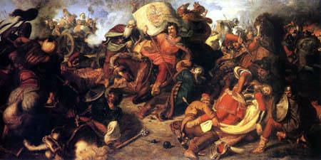 Mór Than - Battle of Mohács