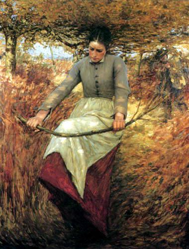 Henry Herbert La Thangue - A autumn morning