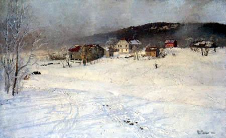 Frits (Johan Frederik) Thaulow - Winter