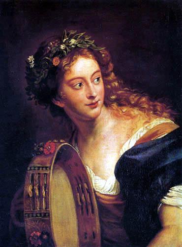 Anna Dorothea Therbusch - Liszewska (Lisiewski, Liesiewka) - Bacchante