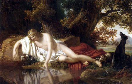 Charles Thévenin - Narcissus