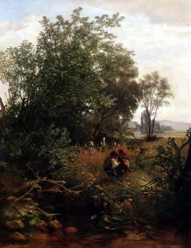 Hans Thoma - Ein Sommermorgen