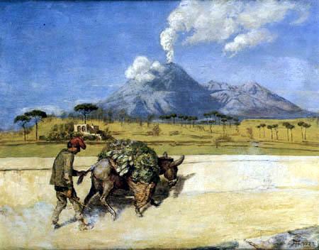 Hans Thoma - The Vesuvius