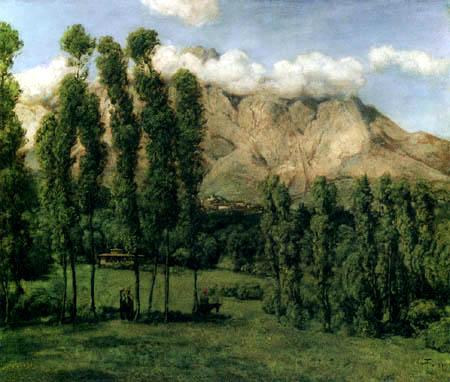Hans Thoma - Die Berge von Carrara