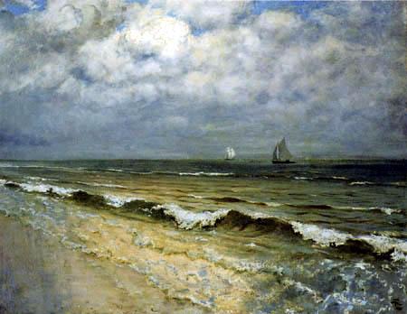 Hans Thoma - Strand bei New Brighton