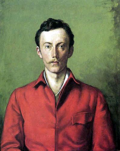 Hans Thoma - Prinz Friedrich Karl von Hessen
