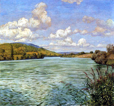 Hans Thoma - Säckingen am Oberrhein