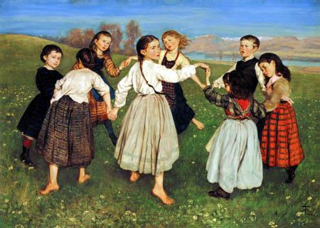 Hans Thoma - Der Kinderreigen