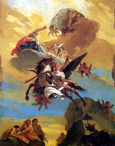 Giambattista (Giovanni Battista) Tiepolo - Perseus und Andromeda