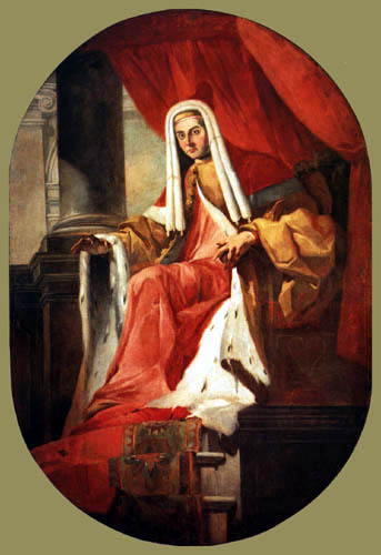 Giambattista (Giovanni Battista) Tiepolo - Der Doge Marco Cornaro