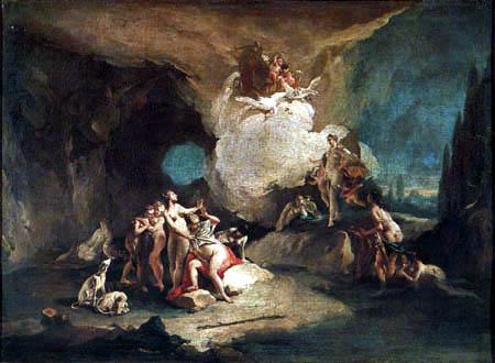 Giambattista (Giovanni Battista) Tiepolo - Diana und Callisto