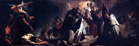 Giambattista (Giovanni Battista) Tiepolo - Madonna del Carmelo