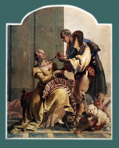 Giambattista (Giovanni Battista) Tiepolo - La unidad conyugal