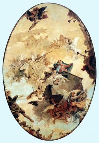 Giambattista (Giovanni Battista) Tiepolo - Das Wunder des Hauses des Loreto