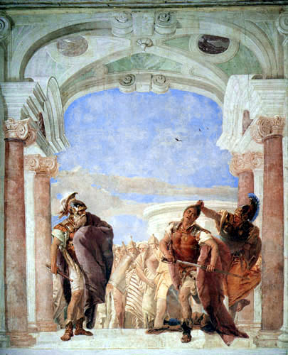 Giambattista (Giovanni Battista) Tiepolo - Der zornige Achill