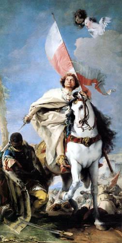 Giambattista (Giovanni Battista) Tiepolo - Der hl. Jakobus besiegt die Mauren