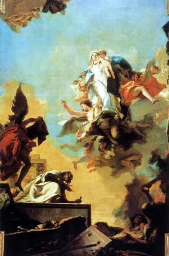 Giambattista (Giovanni Battista) Tiepolo - Madonna