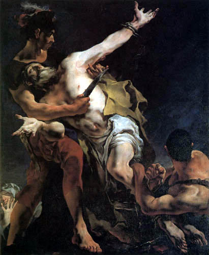 Giambattista (Giovanni Battista) Tiepolo - Das Martyrium des hl. Bartolomäus