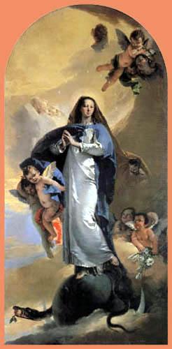 Giambattista (Giovanni Battista) Tiepolo - Maria Immaculata