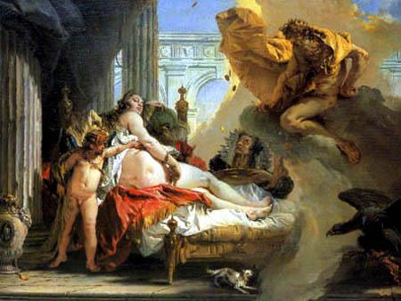 Giambattista (Giovanni Battista) Tiepolo - Danaé