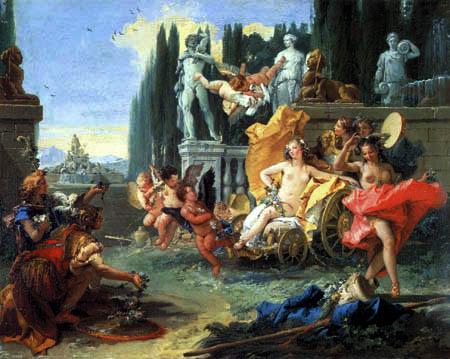 Giambattista (Giovanni Battista) Tiepolo - The Realm of the Flora