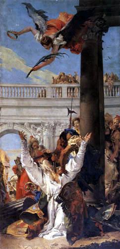 Giambattista (Giovanni Battista) Tiepolo - Das Martyrium Johannes des Täufers