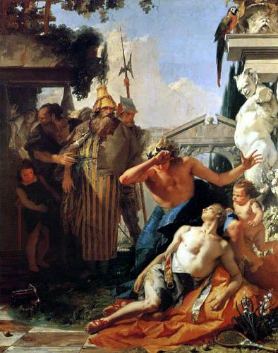 Giambattista (Giovanni Battista) Tiepolo - Der Tod des Hyacinth
