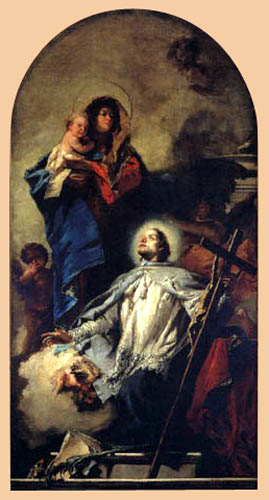 Giambattista (Giovanni Battista) Tiepolo - Heilige Jungfrau Maria mit Kind