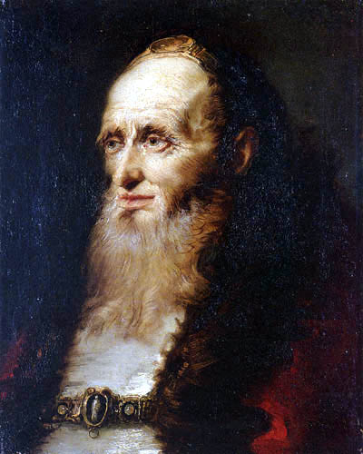 Giambattista (Giovanni Battista) Tiepolo - Portait of an old man