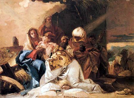 Giandomenico (Giovanni Domenico) Tiepolo - Adoration of the Kings