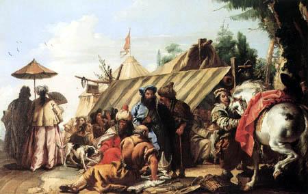 Giandomenico (Giovanni Domenico) Tiepolo - Camp of tents