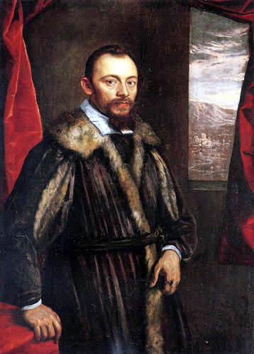 Domenico Robusti Tintoretto - Portait of a Gentleman
