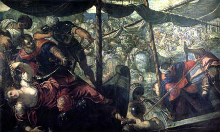 Tintoretto (Jacopo Robusti) - The Abduction of Helen