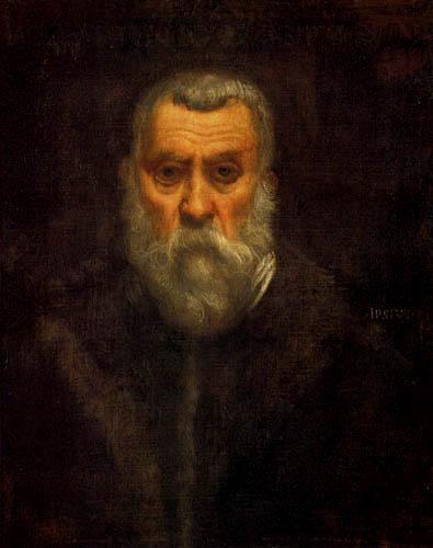 Tintoretto (Jacopo Robusti) - Selbstbildnis