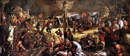 Tintoretto (Jacopo Robusti) - Die Kreuzigung