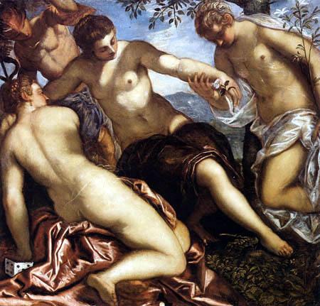 Tintoretto (Jacopo Robusti) - Die drei Grazien