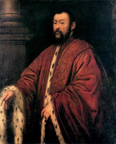 Tintoretto (Jacopo Robusti) - Portrait of a Patrician