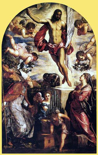 Tintoretto (Jacopo Robusti) - Discesa al Limbo