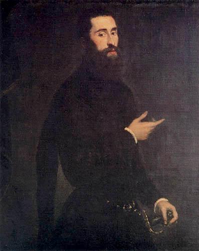 Tintoretto (Jacopo Robusti) - Ein nobler Genuese