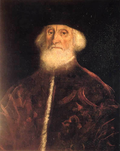 Tintoretto (Jacopo Robusti) - Portrait des Prokurist Jacob Soranzo