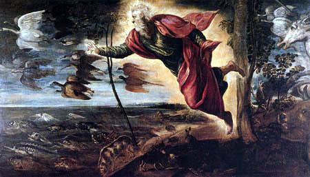 Tintoretto (Jacopo Robusti) - Die Schöpfung der Tiere