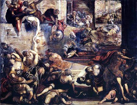 Tintoretto (Jacopo Robusti) - Der Kindermord zu Betlehem