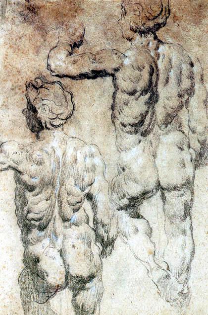 Tintoretto (Jacopo Robusti) - Männerstudien