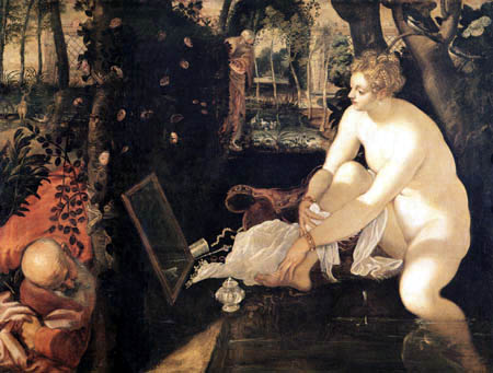 Tintoretto (Jacopo Robusti) - Susanna und die beiden Alten
