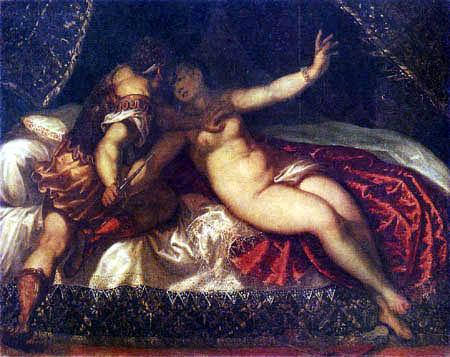 Tintoretto (Jacopo Robusti) - Tarquinius und Lucretia
