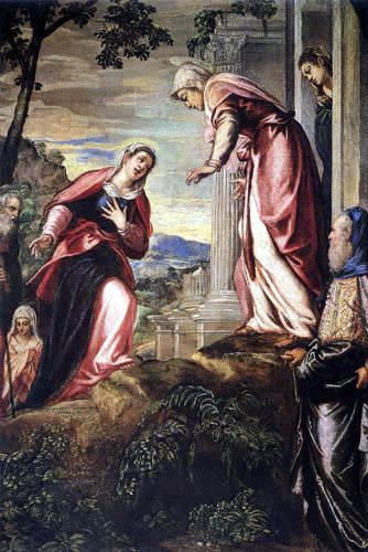 Tintoretto (Jacopo Robusti) - Mariä Heimsuchung