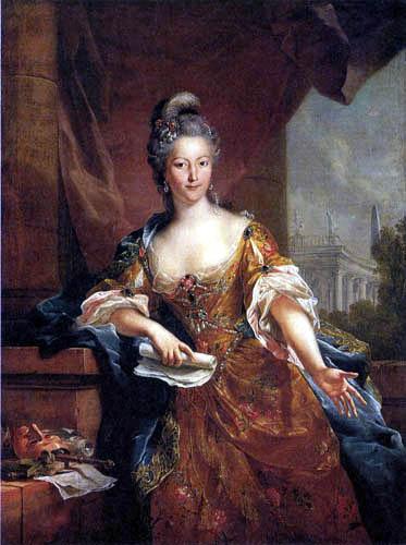 Johann Heinrich Tischbein der Ältere - Bildnis der Schauspielerin Evérard